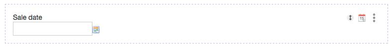Date field type